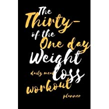 31-Day Weight Loss: Daily Meal & Workout Planner to Get Fit, Strong, Pocket Size