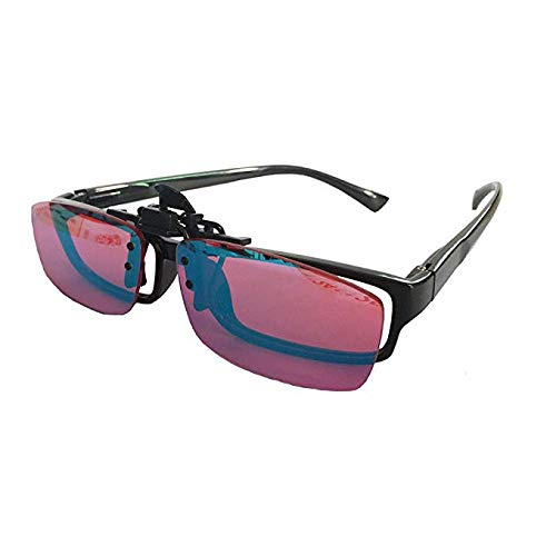 Color Blind Corrective Glasses für rot-grüne Blindheit Color Blindness Silver Coating Lens Sonnenbrille Für mehrere Gelegenheiten aufklappbar Color Weakness Corrective Glasses