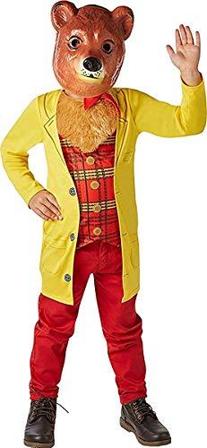 Onlyglobal Kinder Kostüm Party Buchwoche Tag Goldlöckchen Märchen Mr. Bär Kostüm - Multi, M (5-6 Years)