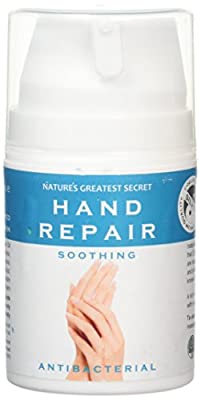 Nature's Greatest Secret Colloidal Silver 50 ml Antibacterial Hand Repair Cream for Tired or Chapped Skin from Natures Greatest Secret