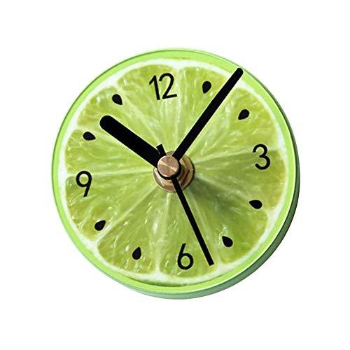 Scelet Patrón de Fruta Creativa portátil Reloj Cocina Refrigerador Nevera Etiqueta Decoración...