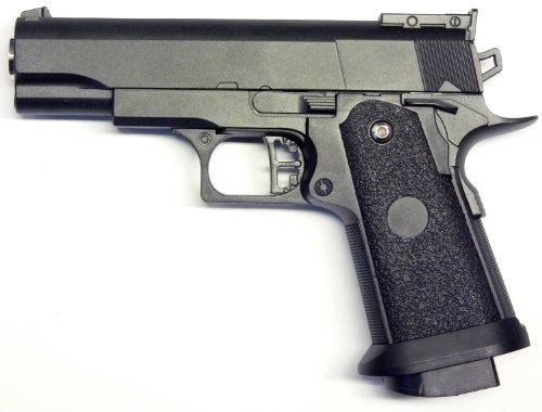 VOLLMETALL Softair Sport Pistole Schwer! G-10 zu Nerd Clear