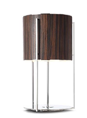 Agena at0033foncé Lampe de table. Table Lamp.
