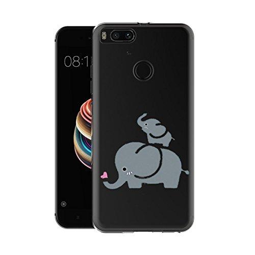 Caler Funda Xiaomi Mi A1 / 5X Case, Suave TPU Gel Silicona...