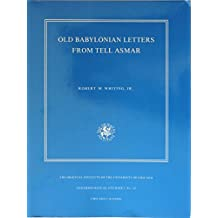Old Babylonian Letters from Tell Asmar