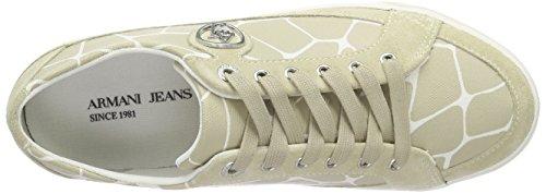 Armani Jeans C55A737, Baskets femme Beige - Beige (BEIGE 51)