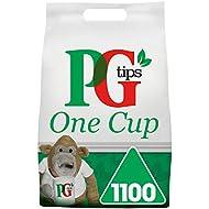 PG Tips One Cup Pyramid Tea Bags (Total 1100 Tea Bags)