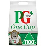 PG Tips One Cup Pyramid Tea Bags (Total 1100 Tea Bags)