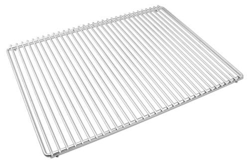 Edelstahl Grillrost mit verstellbarer Breite 65-90X45cm aus Europäischem Edelstahl, Grillrost Verstellbar, Grillrost Rostfrei