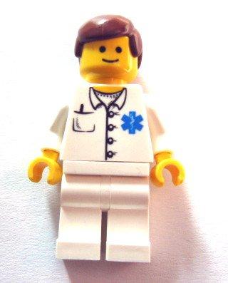 LEGO-City-Rare-Mini-Figure-Doctor--Doctor--Nurse-DOC027