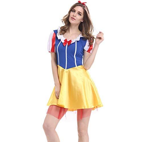 e Spiel Uniformen Cosplay Halloween Kostüme Sexy Schneewittchen Rock XL ()