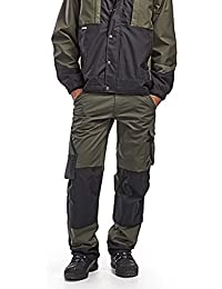 Blaklader Garden Work Trousers with Kneepad Pockets in Cordura - 1454