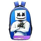 DUTTY Mochila Infantil 3D Algodón De Azúcar Escuela Alumnos Mochila Escolar Bolsa De Dibujos Animados para Niños Unisex C-40 * 30 * 16CM