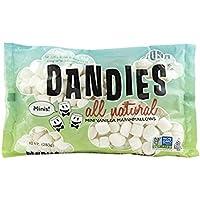 Dandies - Toda la mini vainilla natural de las melcochas - 10 oz.