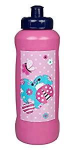 Unbekannt scooli lbug9911 No Deportes Botella, Lady Bug, 450 ml