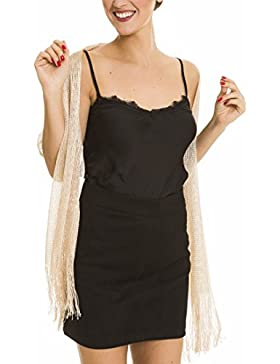 Pañuelos de Mujer Brillante para Boda, Fiesta, Comuniones, Eventos de Noche