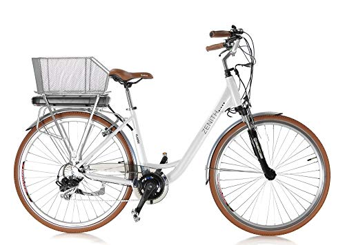 "Zenith Classic E-Bike Elektrofahrrad Pedelec Citybike 28\"" Damen 170-185 cm Pearl Modell 2019"