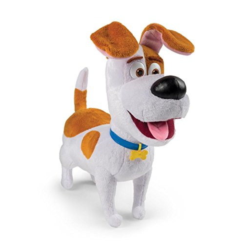 Comme Des Betes The Secret Life of Pets Talking Plush Figure - Max