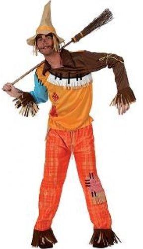 Imagen de atosa  disfraz de espantapájaros adultos, talla xl
