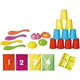 Knorrtoys 56000 - FUN Party Set 26-teilig (Sackhüpfen, Eierlaufen und Dosenwerfen)