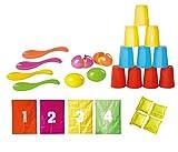 Knorrtoys 56000 - Set Festa per Bambini, Sacchi per Saltare Numerati ed Accessori, 10 Pezzi