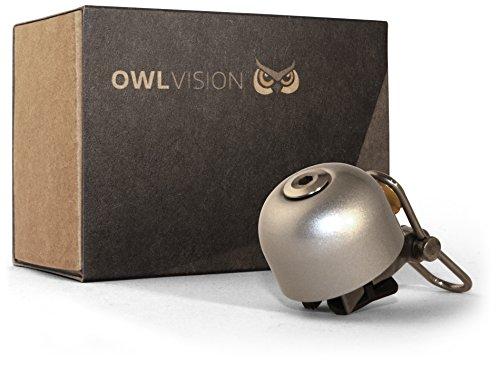 OWL VISION Fahrradklingel Hoot - Stylus (Silver)