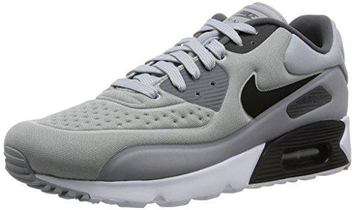 Nike Air Max 90 Ultra SE, Baskets Basses Homme, Gris (Wolf Grey/Black/Dark Grey/White), 42.5 EU