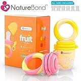 Baby Fruchtsauger/Schnuller - Beißnuckel zur Appetit-Förderung von NatureBond...