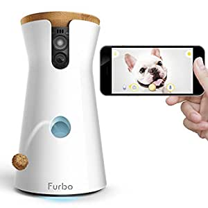 Furbo Dog Camera: Treat Tossing, HD Wifi Pet Cam and 2-Way Audio