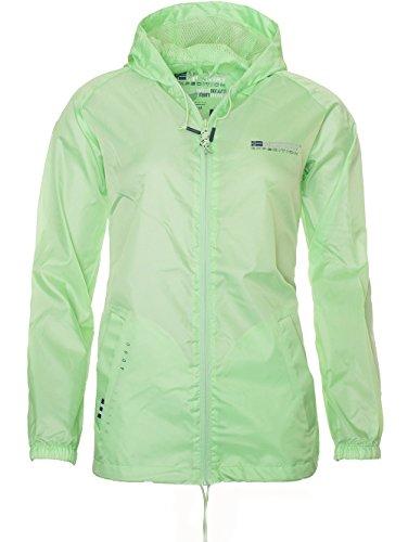 Geographical Norway - Manteau imperméable - Uni - Femme Vert - Vert clair