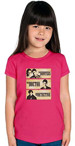 The Hunters The Doctor And The Detective Girls T-shirt, Vêtements