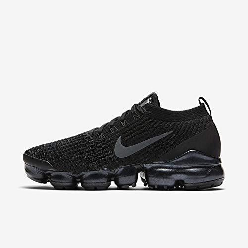 ea32b4e634aac Nike W Air Vapormax Flyknit 3, Chaussures d'Athlétisme Femme, Multicolore  (Black/Anthracite/White/Metallic Silver 000), 40 EU