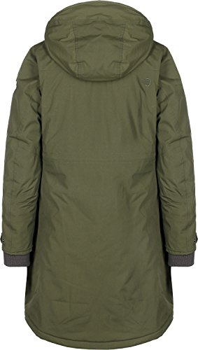 Didriksons Alba Coat Women - Wasserdichter Damenmantel peat green