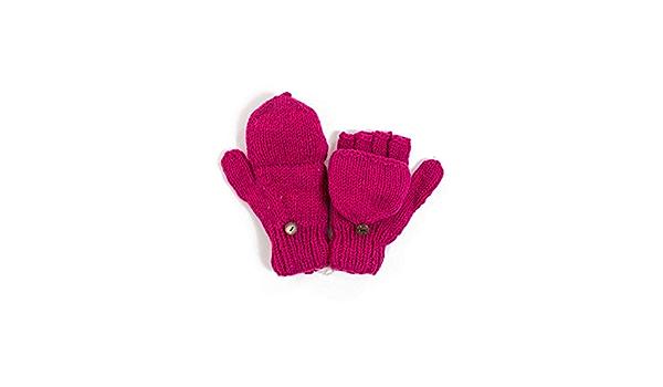 Gants mitaines moufles creme ou gris pure laine et polaire douce 100/% laine tricot/ée /à la main au N/épal Depuis 2004
