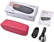 Datazone Portable Multifunction wireless speaker, DZ-110 (Pink)