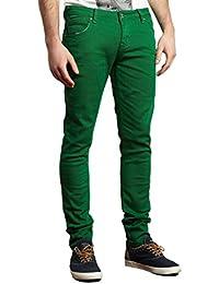 Dommages criminel Skinny Jeans Vert