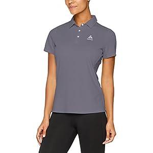 41jJXg0 ALL. SS300  - ODLO Men's Short Sleeve Tina Polo Shirt
