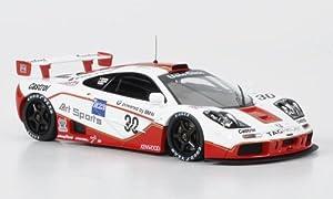 McLaren F1 GTR, n.º 30, artículo Deportivo, Nielsen/Bscher/Kox, 24h Le Mans, 1996, Modelo de Coche, Modelo prefabricado, HPI 1:43, Modelo Exclusivamente de colección.