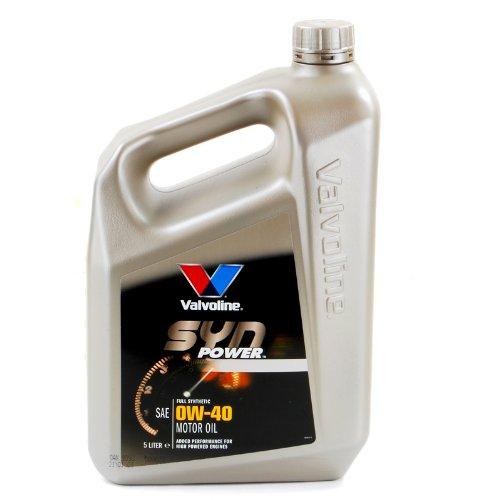Motoröl Valvoline 0W-40 vollsynthetisch