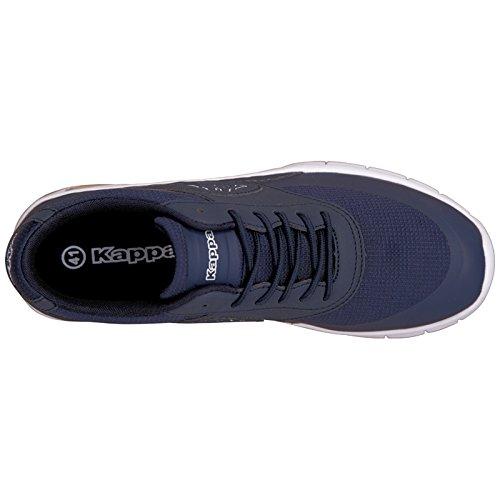 Kappa MILLA M Unisex-Erwachsene Sneakers Blau (6710 navy/white)