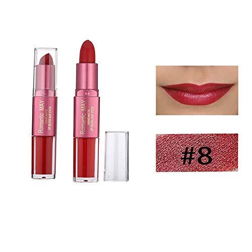 Dtuta Samt Doppelkopf Lippenstift Lippenpflege Trockene Lippen Billig Lippglosse Set Feuchtigkeitsspendend Sexy Nacht
