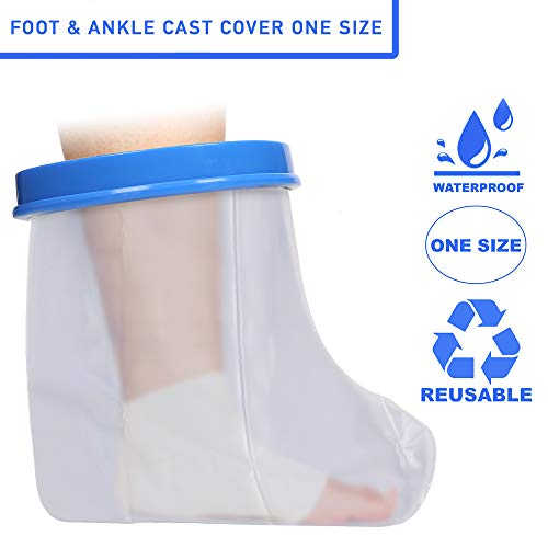 Gipsabdeckung für Fuß und Knöchel   Einheitsgröße   Latexfrei   Wiederverwendbar