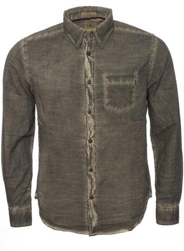 Freeman T. Porter -  Camicia Casual  - Uomo Braun (Wren) Medium