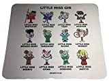 Ginsanity The Gin Collective - Mouse Pad/Mat - Home is Where The Gin is