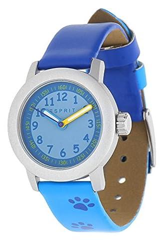 Esprit Mädchen Armbanduhr Cutie Face blau ES106414029