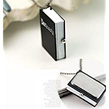 Malloom® Nueva único Death Note Collar Cadena Reloj de Bolsillo Perfecto Regalo