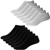 YouShow Sneaker Socken Herren Damen 10 Paar Kurze Halbsocken Quarter Baumwolle Unisex