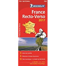 Carte France Recto-Verso Michelin 2017