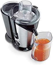 Hamilton Beach 67750-IN 850-Watt Big Mouth Juice Extractor (Stainless Steel)