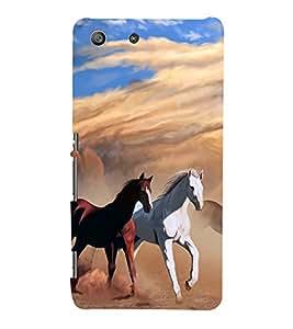 PrintVisa Designer Back Case Cover for Sony Xperia M5 Dual :: Sony Xperia M5 E5633 E5643 E5663 (Nature Flowers rose jasmine sunflower)